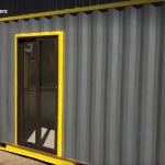 20ft Container Converted To An Office Unit